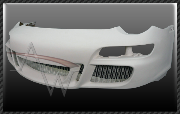 911/996 Conversion From 996 C2 & C4 to 997 GT3 Front Bumper