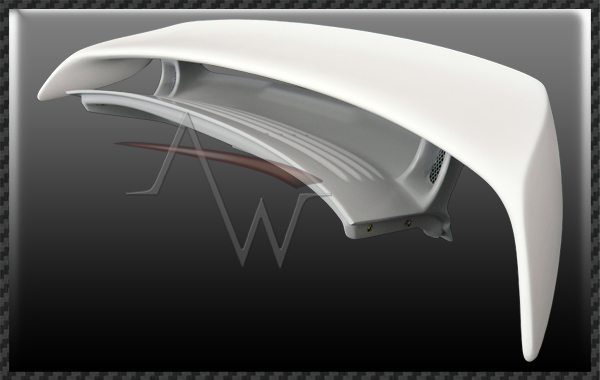911/996 GT2 Style Rear Wing & Bootlid with Light for All 996 Body