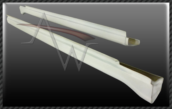 957 Cayenne 07'UP TA Magnum Style Side Skirts for 03'-06' 955 Body