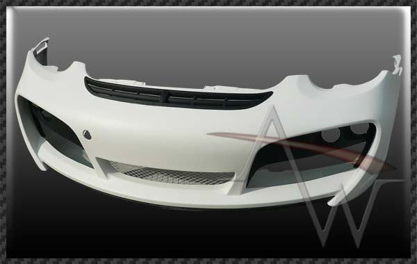 987 Cayman 09' UP TA Style Front Spoiler with Bumper Cover for 987 Cayman & Boxster