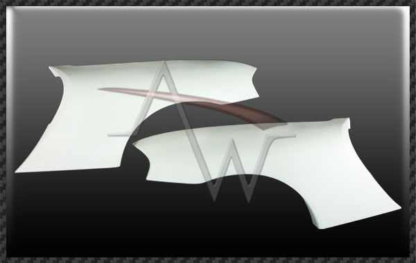 986 Boxster TA Style Rear Fender - 1 pair