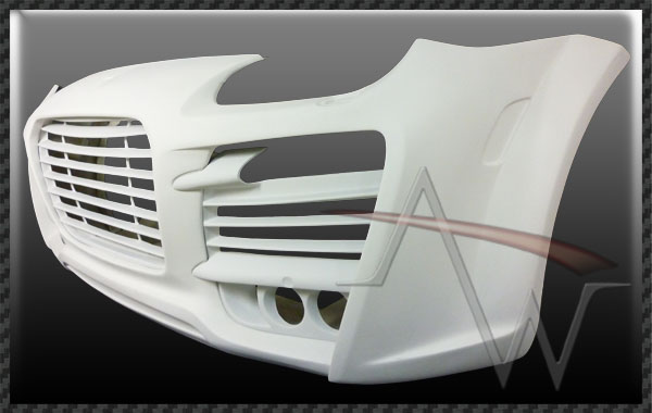 957 Cayenne 07'UP TA Magnum Style Front Bumper Cover with Grill for 03'-06' 955 Body