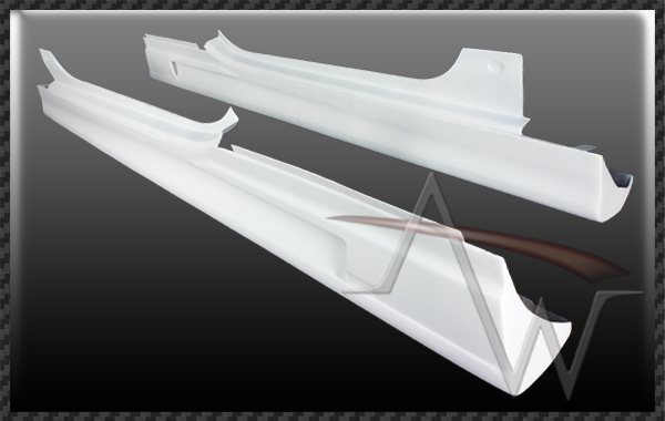 Bentley Continental GT 2/DR 09' UP Side Skirts