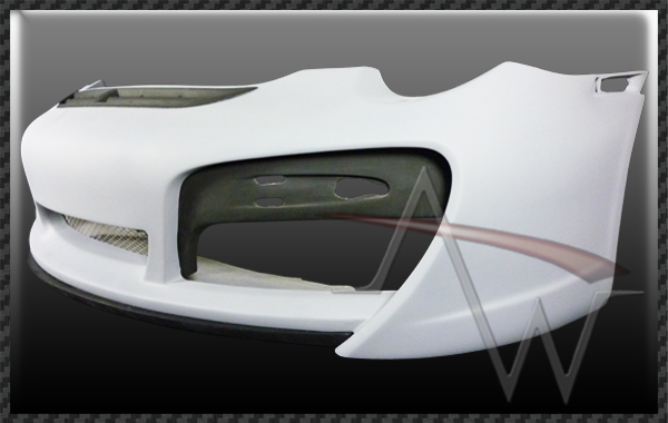 911/997 (TA Style) Front Bumper Set for 996 C2 Body