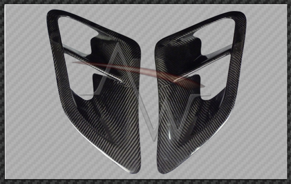 911/997 Turbo Carbon Fibre Rear Side Air Scoop - 1 pair