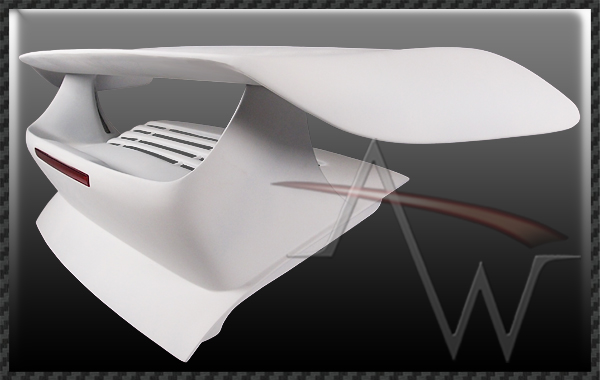 911/997 MAN 09'-12' Style Rear Wing (For Turbo Engine)