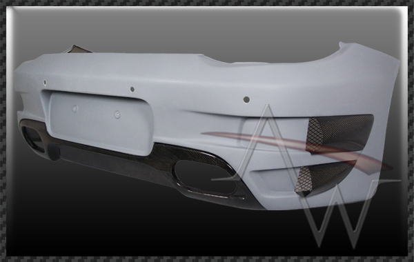 911/997 Turbo TA-GT 09'UP Style Rear Bumper Set